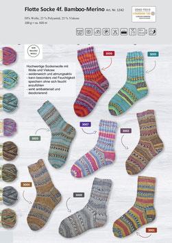 Rellana Flotte Socke Bamboo-Merino