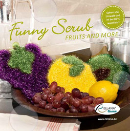 Anleitungsheft Funny Scrub FRUITS AND MORE