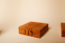 Seifenablage Holz Quadrat