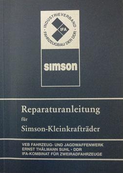 Reparaturanleitung SIMSON S 50 Schwalbe KR51 KR51/1 Star Habicht