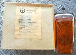 1 Blinkleuchte DDR IFA z.B. Simson DUO hinten FRAMO Kasten Anhänger HP Blinker ALU