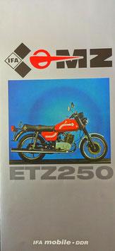 MZ ETZ 250 1981