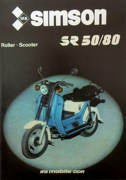 Simson Prospekt  Scooter SR50/80
