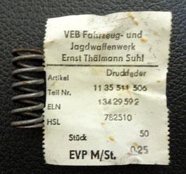 Druckfeder Kupplungskorb  Simson S50 Schwalbe KR51