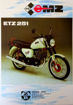 MZ 250 ETZ Export  1989