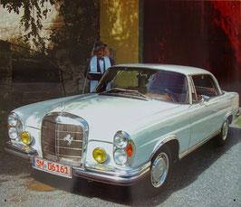 Blechschild Mercedes W111 Coupe 220 250 280 300 SE Oldtimer Daimler Nr. 1801