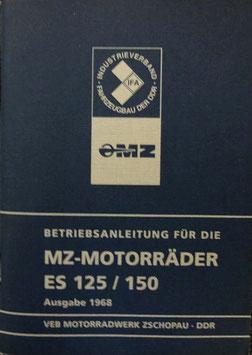 Betriebsanleitung MZ ES 125 & MZ ES 150