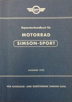 Reparaturhandbuch Simson AWO Sport