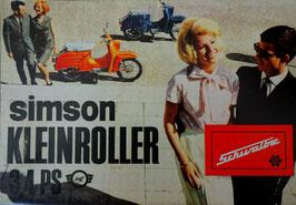 Simson Prospekt Schwalbe  3,4 PS Modell KR 51 1967