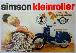 Simson Prospekt Schwalbe  3,4 PS Modell KR 51  1965