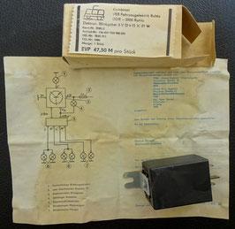 ELEKTRONISCHER  BLINKGEBER SIMSON 6 V (2+1) X 21 W