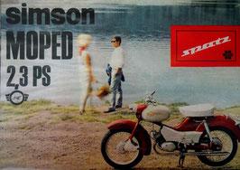 Simson Prospekt Moped SPATZ  2,3 ps   1966