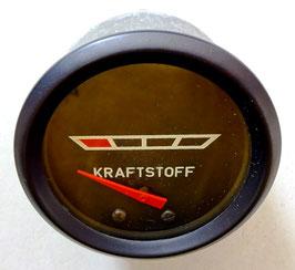 Original DDR Kraftstoffuhr Benzinuhr Tankanzeige Wartburg Multicar NEU
