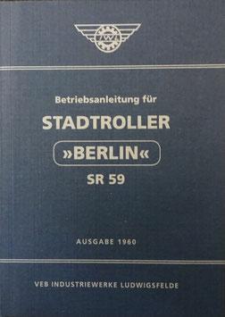 Betriebsanleitung für STADTROLLER BERLIN SR 59