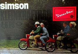 Simson Prospekt Sperber SR 4-3 4 6 PS