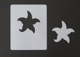 Hippen Schablone SEESTERN, Motiv Größe 5,5 cm