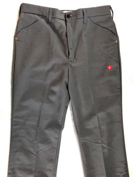 Leather Pocket Work Pants