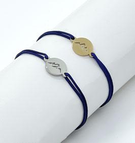 Bergliebe Armband -blau-