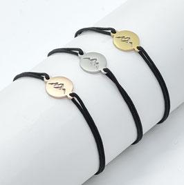 Bergliebe Armband -schwarz-