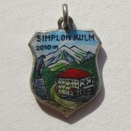 Simplon-Kulm-Berg-Antik-Wappen-Anhänger-800-Silber
