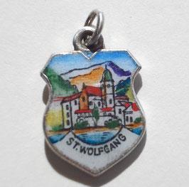 St.-Wolfgang-Antik-Wappen-Anhänger