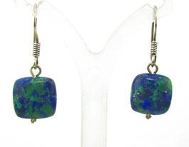 L-01 Azurit Perle Ohrring