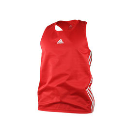 adidas Boxing Top Punch Line/rot,weiß