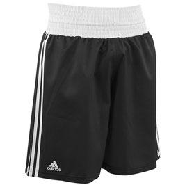 adidas Boxing Short, schwarz/weiß