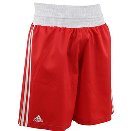 adidas Boxing Short, rot/weiß