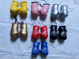Boxmeyer Mini-Boxhandschuhe für den Autospiegel, Trainingstasche oder einfach als Mitbringsel !
