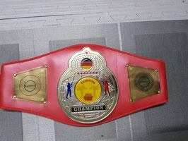 Boxmeyer ''Meistergürtel/ Championship Belt, Thai-Boxen'' Basis 2