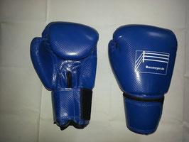 """Neu !! Boxhandschuhe """"Power"""" blau / Hochglänzend !!"""