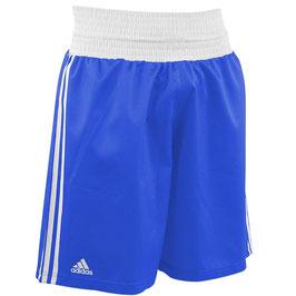 adidas Boxing Short, blau/weiß