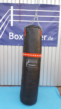 Modell 'Big Punch' Sandsack SCHWARZ Größen: 150/45cm.   Zur Zeitr nicht auf Lager!
