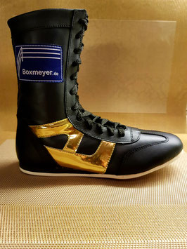 """Leder Boxstiefel """"Classic Gold Edition''"""