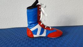 Boxstiefel ''Classic''blau/rot/weiß    Restposten ! nur in den Größen  37 und 38