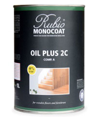 1 Liter Rubio® Monocoat Oil Plus 2C - A (ohne Beschleuniger, B-Komponente) für den Innenbereich