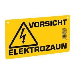 Warnschild - Vorsicht Elektrozaun