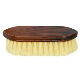Mähnen- und Waschbürste, kurz, braun maseriert