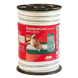 PremiumLine Weidezaunband 200m - 20mm