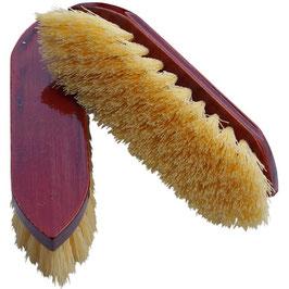 Mähnen- und Waschbürste, kurz, mahagoni lackiert