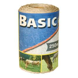 Basic Classe Litze, weiß, 250m, 3 x 0,16 Niro