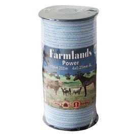 """Farmlands, Breitband """"Power"""", 40mm, 200m, 8x0,25 AL"""