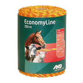 EconomyLine, Nirolitze 250m, gelb/orange, 3 x 0,2mm Niro