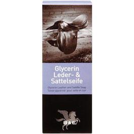 B&E Glycerin Leder- & Sattelseife, im Jutesack, 250g