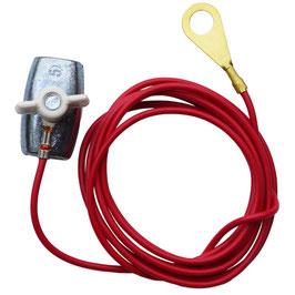 Zaunanschlussklemme für Seil (6mm)/ Öse AUSVERKAUF