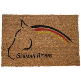 """Kokosmatte """"German Riding"""""""