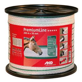 PremiumLine Weidezaunband 200m - 38mm