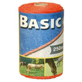 Basic Classe Litze, orange, 250m, 3 x 0,16 Niro
