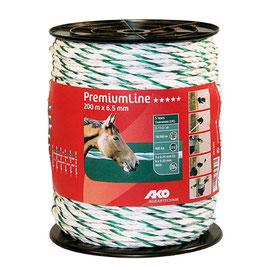 Premium Line, Seil 200m, 6,5mm, weiß-grün, 6x0,20 Niro+3x0,25Cu